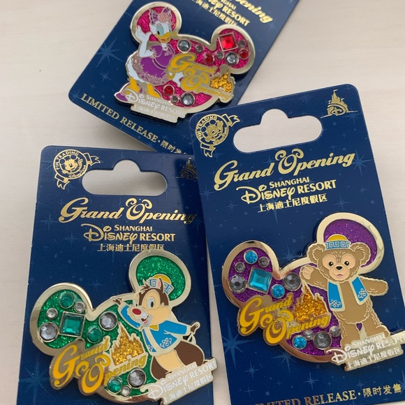 Disney Other - Authentic Shanghai Disney Collectible Pins